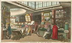 Ackerman's Repository of Arts, 101 Strand, London. Drawn by Augustus Pugin and Thomas Rowlandson. Published by Rudolph Ackerman, January 1809 - See more at: http://britishlibrary.typepad.co.uk/untoldlives/war/#sthash.8ARWpePi.dpuf