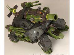 HMM Cannontortoise - Zoids 1/72 Scale