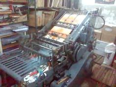 Old FRONTEX printing machine converted to die cutting. Printing Press, Letterpress, Prints, Google Search, Places, Typography, Letterpress Printing, Emboss, Lugares