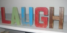 letters for Maddens room