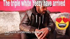 Sneaker Shopping Therapy Part 11 : Adidas Yeezy Triple Whites Have Arrived Adidas Yeezy 350 V2, Therapy, Songs, Sneakers, Shopping, Sneaker, Counseling, Cross Training Shoes