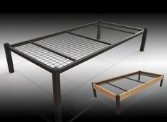The Wyoming is a very robust and sturdy bed. The upper surface features a fully welded mild steel mesh base. The bed is 370mm tall to the top of the mesh base. It is available in a black finish as shown or a silver. An ideal solution for student, housing or challenging contract environments in the mental health sector.