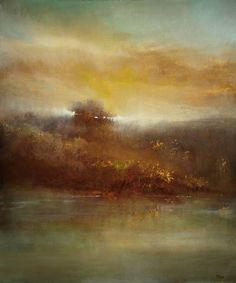 "Saatchi Art Artist Maurice Sapiro; Painting, ""Across The River"""