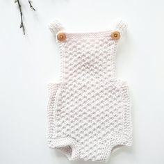 Baby romper Knitting pattern Mia download pdf