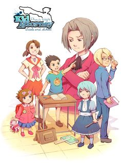 Phoenix Wright: Kid Attorney by ~Hello-Morphine on deviantART