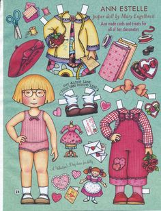Mary Engelbreit Paper Doll Ann Estelle Vol Nine No Two Feb Mar 2005 | eBay