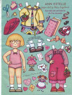 Mary Engelbreit Paper Doll Ann Estelle Vol Nine No Two Feb Mar 2005 | eBay