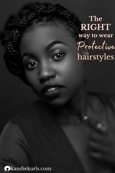 What's the right way to wear protective hairstyles? Find out what to do and what not to do to avoid hair damage. #4c #natural #hair #grow #howto #regimen #routine #tips #guide Natural Hair Care Tips, Love Natural, Natural Hair Styles, Low Porosity Hair Products, Hair Porosity, Damaged Hair Repair, Heat Damage, Split Ends, Protective Hairstyles