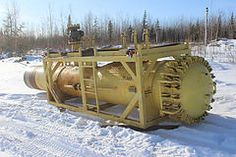 "36"" pipeline pig catcher 