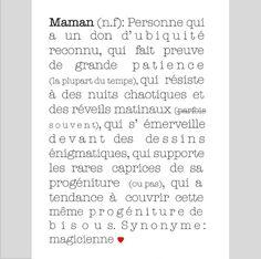 C'est quoi une maman? affiche, maman, définition, poster, babayaga magazine, eshop, boutique, webzine, décoration, enfants, idées, cadeau