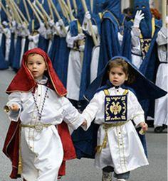 Pequeños nazarenos Semana Santa MÁLAGA