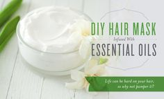 DIY Hair Mask Infused with Essential Oils | Young Living Blog