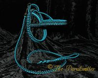 "#Paraknotter #Handmade #Paracord #Dogs #Adjustable #Dogharness & #Dogleash ""Charley"""