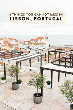 Heading to Lisbon and wondering what to do? I have narrowed down my list to 8 things you absolutely cannot miss! The best non-cliche, off-the-beaten-path things to see, do, eat, and drink. Portugal Vacation, Portugal Travel Guide, Europe Travel Guide, Spain Travel, Portugal Trip, Travelling Europe, Traveling, Travel Tips, Visit Portugal