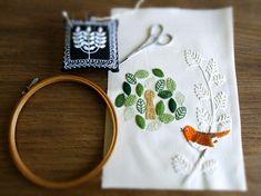 Naoko Asaga embroidery