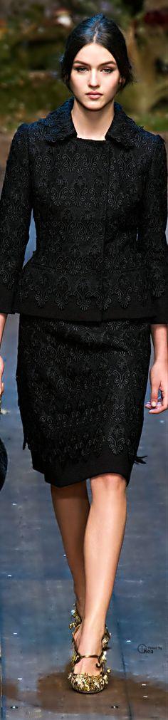 Dolce & Gabbana ● FW 2014-15