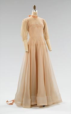 Evening Dress, Madeleine Vionnet, 1937, The Metropolitan Museum of Art