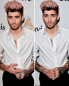 Zayn at the Clive Davis Pre-Grammy Party
