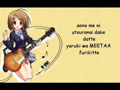 ▶ k-on ending dont say lazy lyrics - YouTube