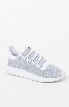 e3d4accca47 adidas Tubular Shadow Knit White   Black Shoes at PacSun.com