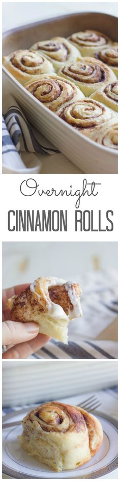 Overnight Cinnamon Rolls - these were amazing. My house smelled like cinnabon for hours. http://snip.ly/jZn0