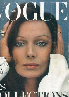 Vogue Paris Cover March 1972 - Marie Laforet by Helmut Newton