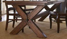 Detalle de patas de mesa Fontana