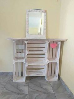 Recycled Furniture Design Share your Beautiful home photos with . Diy Home Furniture, Crate Furniture, Diy Pallet Furniture, Furniture Makeover, Diy Home Decor, Recycled Furniture, Furniture Design, Crate Shelves, Wood Crates