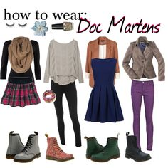 I've never been a big fan of these, but I would wear them with these adorable outfits!