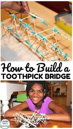 Help your young engineers build enthusiasm for design with this toothpick bridge project! Stem Curriculum, Young Engineers, Computer Coding, Stem For Kids, Building For Kids, Online Programs, Cardboard Crafts, Teaching Science, Design Thinking