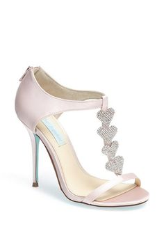 Blue by Betsey Johnson 'Favor' Sandal | Nordstrom Comes in Blush, Blue and White!