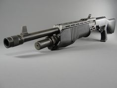 Welcome to Jurassic Park, Franchi SPAS-12 shotgun.