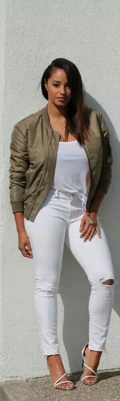 Topshop Bomber Jacket / Fashion by Beyond Her Reality
