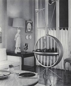 HI-FI Sphere - (atomic age, space era, mid century modern) Mid Century Decor, Mid Century House, Mid Century Style, Mid Century Modern Furniture, Mid Century Modern Design, Midcentury Modern, Vintage Design, Retro Vintage, Radios