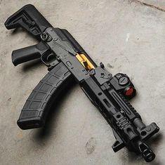 Military Weapons, Weapons Guns, Guns And Ammo, Tactical Rifles, Firearms, Shotguns, Ak 47 Tactical, Ak Pistol, Aigle Animal