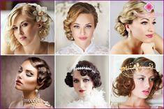 Jednoduché svadobný účes - možnosti pre vlasy rôznych dĺžok, fotky