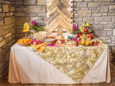 Dress up plain folding tables with a custom fitted tablecloth >> http://blog.diynetwork.com/maderemade/2013/12/10/here-it-is-maybe-the-best-tablecloth-ever/?soc=pinterest-blogparty