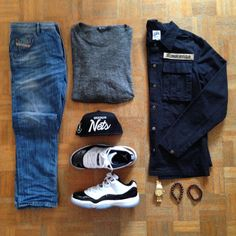 """Men's outfit of the day"""