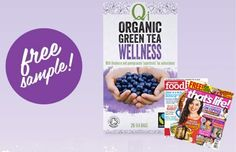 Free QI Organic Green Tea Sample