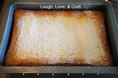 Red velvet cream cheese bars for MOPS brunch. Tabitha used this recipe but switched out the yellow cake mix for a red velvet cake mix: Manic Monday Recipe~ Ooey Gooey Butter Cake (Laugh Love and Craft)