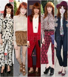 Florence Welch look