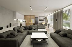 Moderná obývačka Couch, Furniture, Home Decor, Settee, Decoration Home, Sofa, Room Decor, Home Furnishings, Sofas