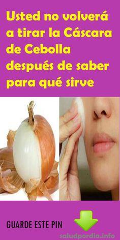 Usted no volverá a tirar la Cáscara de Cebolla después de saber para qué sirve. #Cáscara #Cebolla #piel #belleza