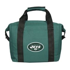 NFL New York Jets Soft Sided 12-Pack Cooler Bag *** More info could be found at the image url.