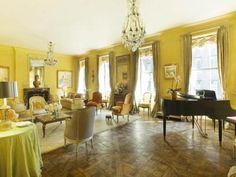 Jackie Kennedy Onassis Former Square Foot Duplex At 740 Park Ave The Building Was Designed By Architect Rosario Candela