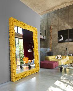 MIRROR OF LOVE XL design Moro, Pigatti