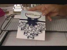 """Tutoriel Pliage """"Carte à rideaux en V"""" Boutique Florale"""