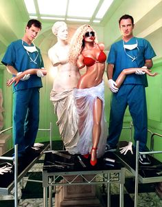 Dylan Walsh & Julian McMahon in Nip/Tuck FX)-Love this show! Julian Mcmahon, David Lachapelle, Movies Showing, Movies And Tv Shows, Best Camera Backpack, Best Fashion Photographers, Orange Is The New, Great Tv Shows, Classic Tv