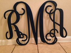 Wood Monogram Wall Decor wooden letters for nursery wall decor wall letters wooden signs