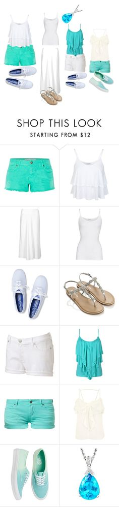 """""""Bella Hartley From H2O just add water Look"""" by elenaswets ❤ liked on Polyvore featuring Miss Selfridge, M&S, American Vintage, Keds, Accessorize, Rock & Republic, TWINTIP, Vans and summerloves"""